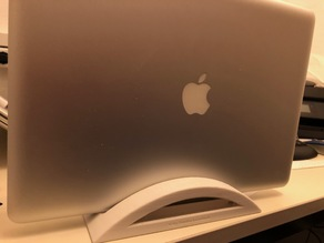 vertical stand for MacBook