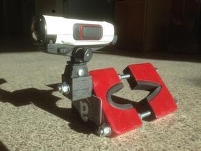 Garmin VIRB/GoPro camera mount for Piper Tripacer