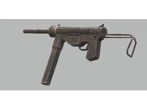US M3 Grase Gun WWII