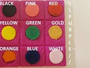 10 Color Sample Palette