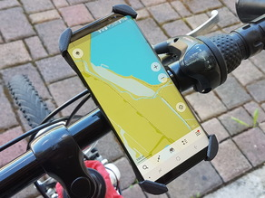 Customizable Bike Mount for Smartphone
