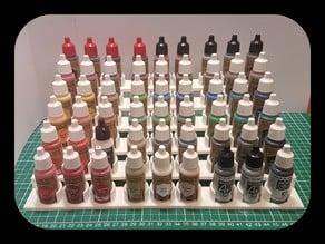BottleStand for paint bottles ; army painter , vallejo etc