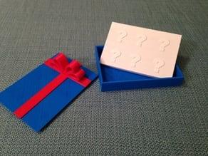 Presentation Box for Gift Card Vault