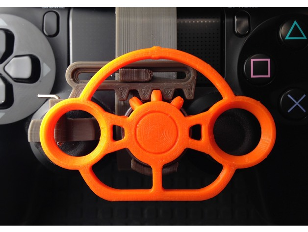 Playstation 4 Controller Mini Wheel By Pixel2 Thingiverse