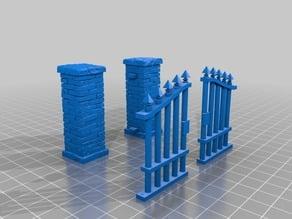 Stone Wall Gate