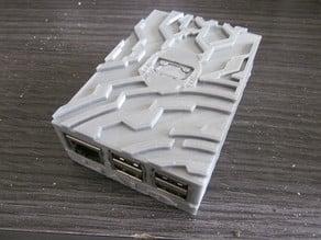 Raspberry Pi 2B Halo style case