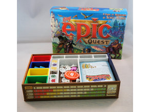 Tiny Epic Quest organizer