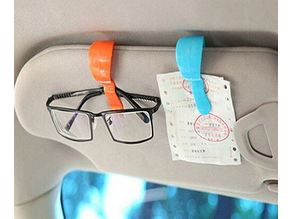 Car Sunglasses Glasses/Card/Ticket Clips Holder