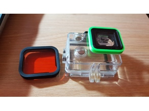 filter gopro 5 adapter lens  to gopro 4 camera