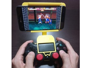 phone grip with ps4 dualshock