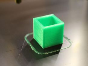Calibration Cube 20mm x 20mm x 20mm / weight: 6g