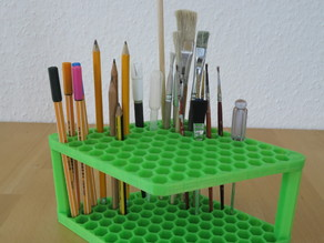 Pencil Pen Brush Holder Stand