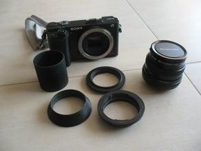 a6000 Sony NEX macro tube for K mount Chinon