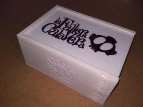 Caja Fallera Calavera (con fundas) + expansión