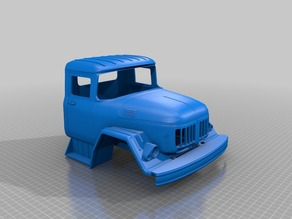 1/10 Truck body ZIL 131