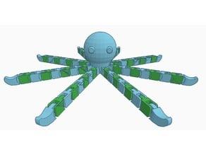 Flexi Octopus (Dual Extrusion)
