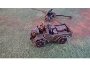 British Airborne Cut-Down C-8 Morris Truck 28mm