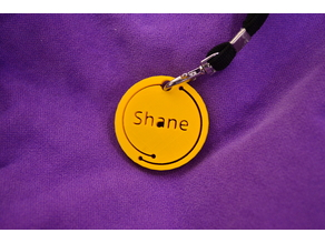 Shane name tag