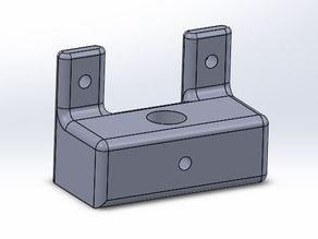 Dial gauge measurement holder for Solidoodle 4