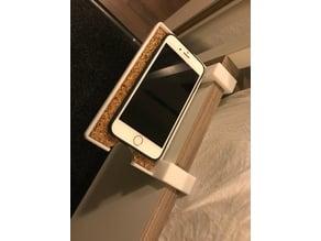 Bedside phone shelf