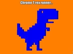 Chrome T-rex runner