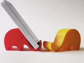Elephant smart phone holder