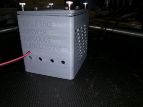 HOT BED/END POWER MODULE ENCLOSURE