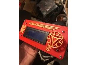 LCD plate Iron-man