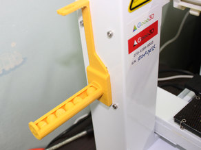 Up Plus2/Afinia spool holder for PLASIL 3D Filament