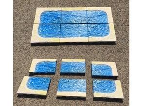 Beach 4x3 Openlock Tiles