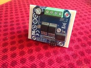 Arduino IBT_2 Mounting Tray