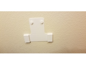 Minifig TP Holder - Wall Adapter