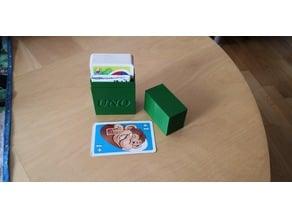 UNO Junior Spiel Box mit Anleitungsfach / UNO Junior Game Box with instruction pocket