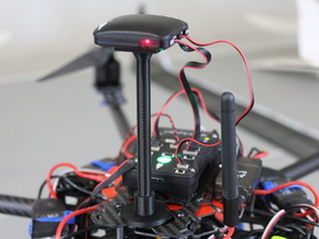 GPS/Compass Stand for APM and Pixhawk Multirotors