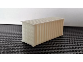 20-Feet Container N-Scale
