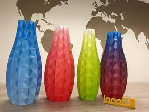 Innofil3D Vase - multicolor