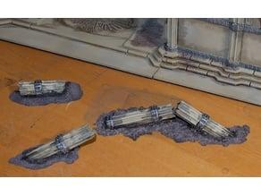 Scatter Terrain Columns