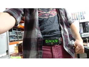 Dynabuckle: Dynavap Belt Buckle