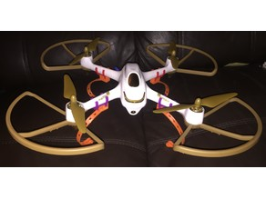Hubsan H501S lightweight landing struts