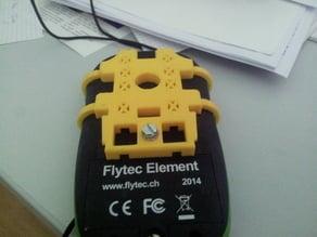 mount for variometer on paragliding harness