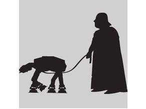 Darth Vader - AT-AT Walking