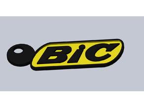 BIC keychain