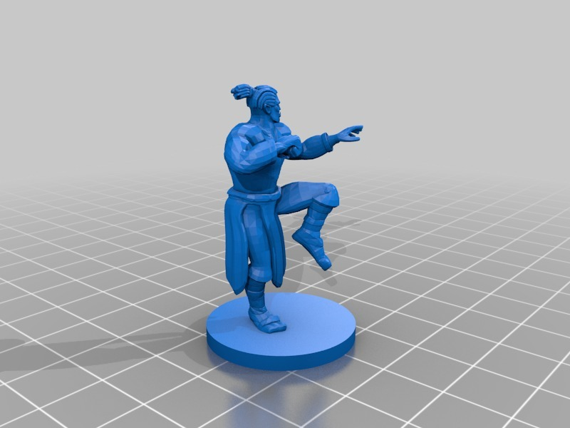 Monk Collection! by mz4250 - Thingiverse