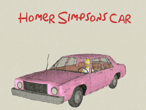 Homer Simpsons Car for #WeLoveCars collection by whatakuai