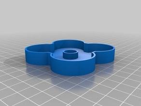 Simple quad batteries holder