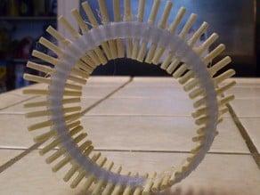 Parametric Dowel Mobius Strip