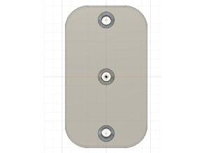 Ikea Besta/Stuva hole template
