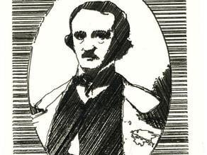 Portrait of Edgar Allan Poe