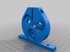 My Customized Threadless Ballscrew (, no backlash) 608 bearing