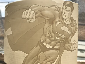 Superman Lithophane